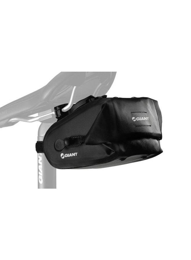 Giant Waterproof Saddle Bag Black Medium