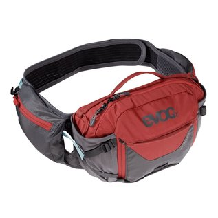 Evoc Evoc Hip Pack Pro 1.5L Hydration Pack 3L Carbon Grey/Chilli Red
