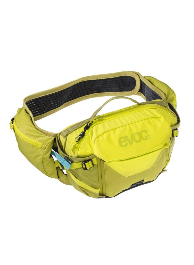 Evoc Hip Pack Pro 1.5L Hydration Pack 3L Sulphur/Moss Green