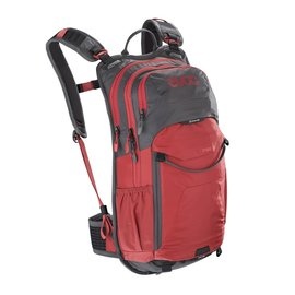 Evoc Evoc Stage 12L Performance Back Pack Carbon Grey/Chilli Red