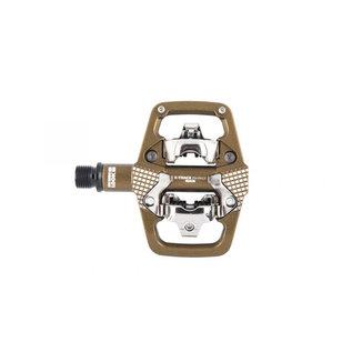 LOOK LOOK X-Track En-Rage Plus MTB Pedals with Cleats Bronze