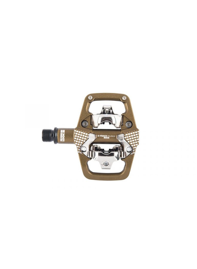 LOOK X-Track En-Rage Plus MTB Pedals with Cleats Bronze