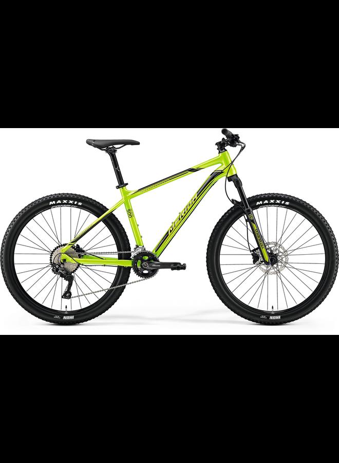 "Merida 2018 Big Seven 500 27.5"" Hardtail Mountain Bike, Green/Black, L 19"" *Sale*"