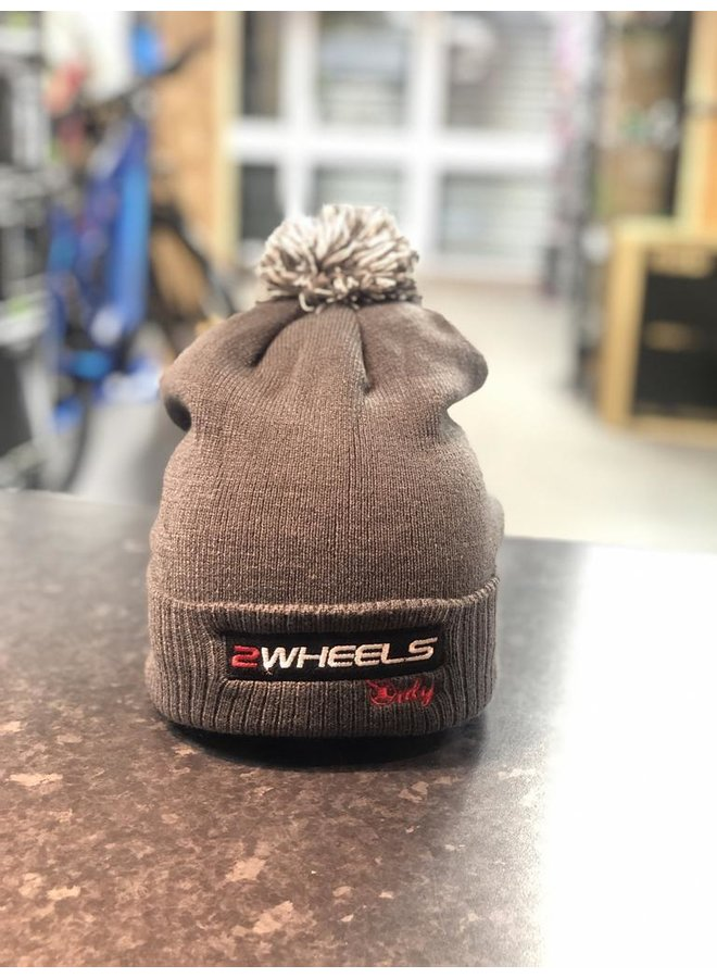 2 Wheels Only Snowstar Duo Bobble Hat