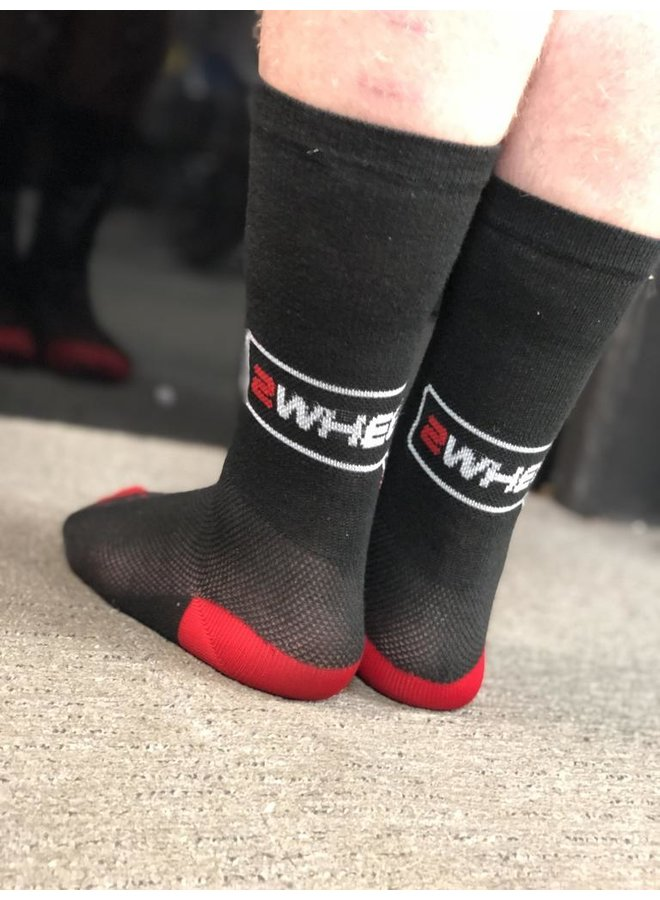 2 Wheels Only Custom SockGuy Socks Per Pair