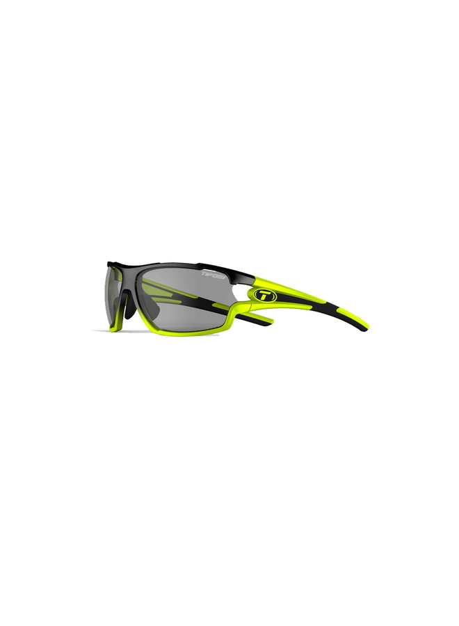 TIFOSI AMOK SINGLE LENS EYEWEAR RACE NEON/FOTOTEC SMOKE