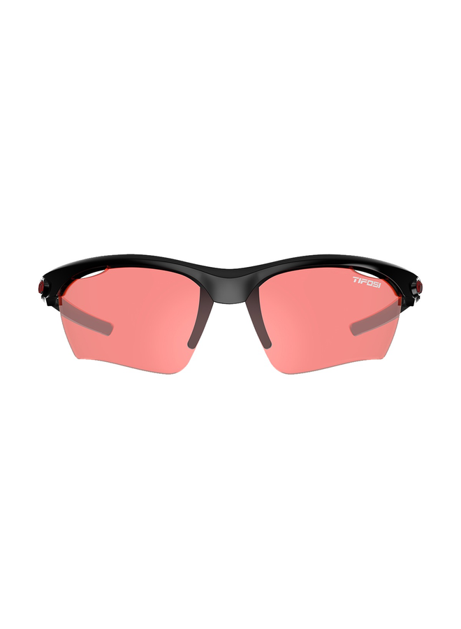 TIFOSI VERO ENLIVEN BIKE RED LENS SUNGLASSES 2020: CRYSTAL BLACK/ENLIVEN BIKE RED