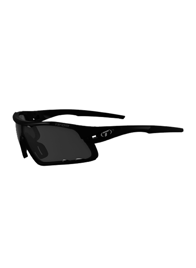 TIFOSI DAVOS INTERCHANGEABLE LENS SUNGLASSES: MATTE BLACK