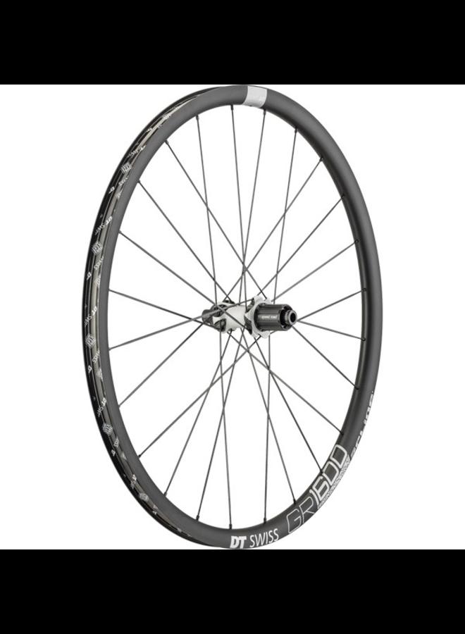 DT Swiss GR 1600 SPLINE disc brake wheel, clincher 25 x 24 mm, 700c rear