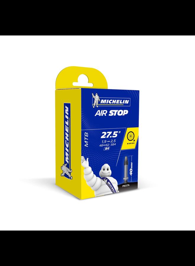 Michelin Inner Tube Airstop 27.5 1.9-2.5 Presta 40mm Valve