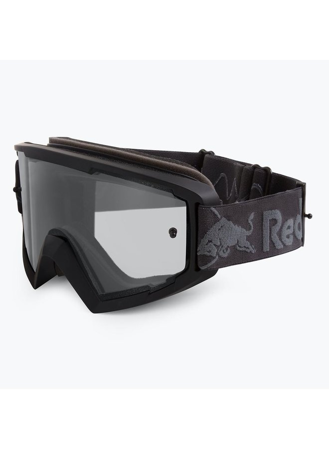 Red Bull Spect MX Goggle Black Clear Flash