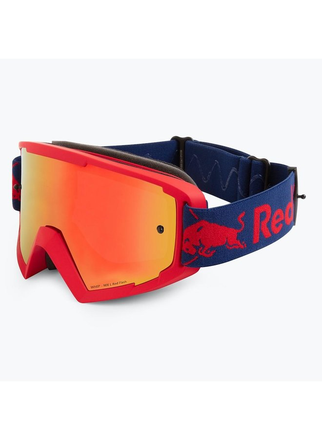 Red Bull Spect MX Goggle Red Flash