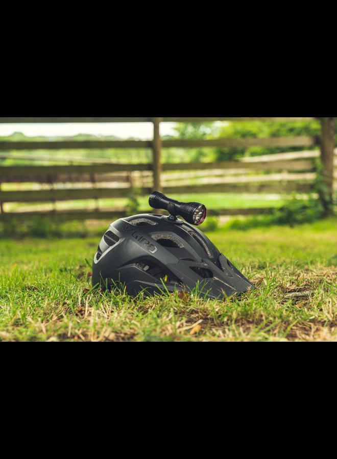 Exposure Diablo Mk12 Helmet Light with Helmet and HB Mount, with Tap Technology