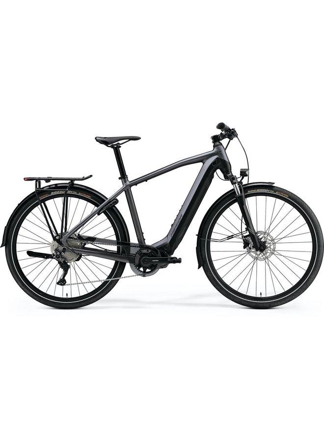 Merida 2021 Espresso 500 EQ Mens Assisted E-Bike Hybrid Anthracite