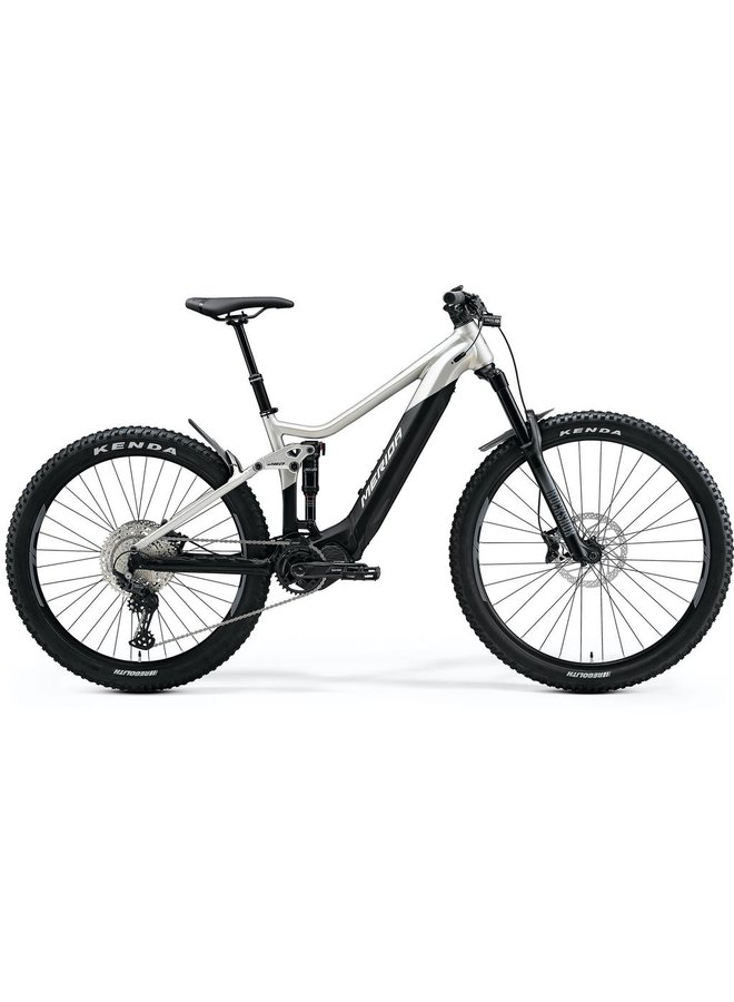 Merida 2021 Eone sixty 500 E-Bike EMTB Full Suspension Pedal Assisted Black/Silver