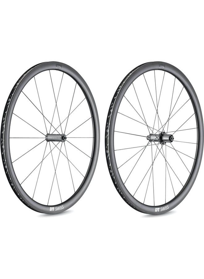 DT Swiss PRC 1100 DICUT Mon Chasseral 24 mm Clincher Disc Brake 100 x 12 FRONT WHEEL ONLY
