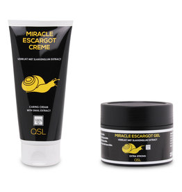 Miracle Escargot Offre combinée | Miracle Escargot Gel 250ml & Miracle Escargot Crème 200ml