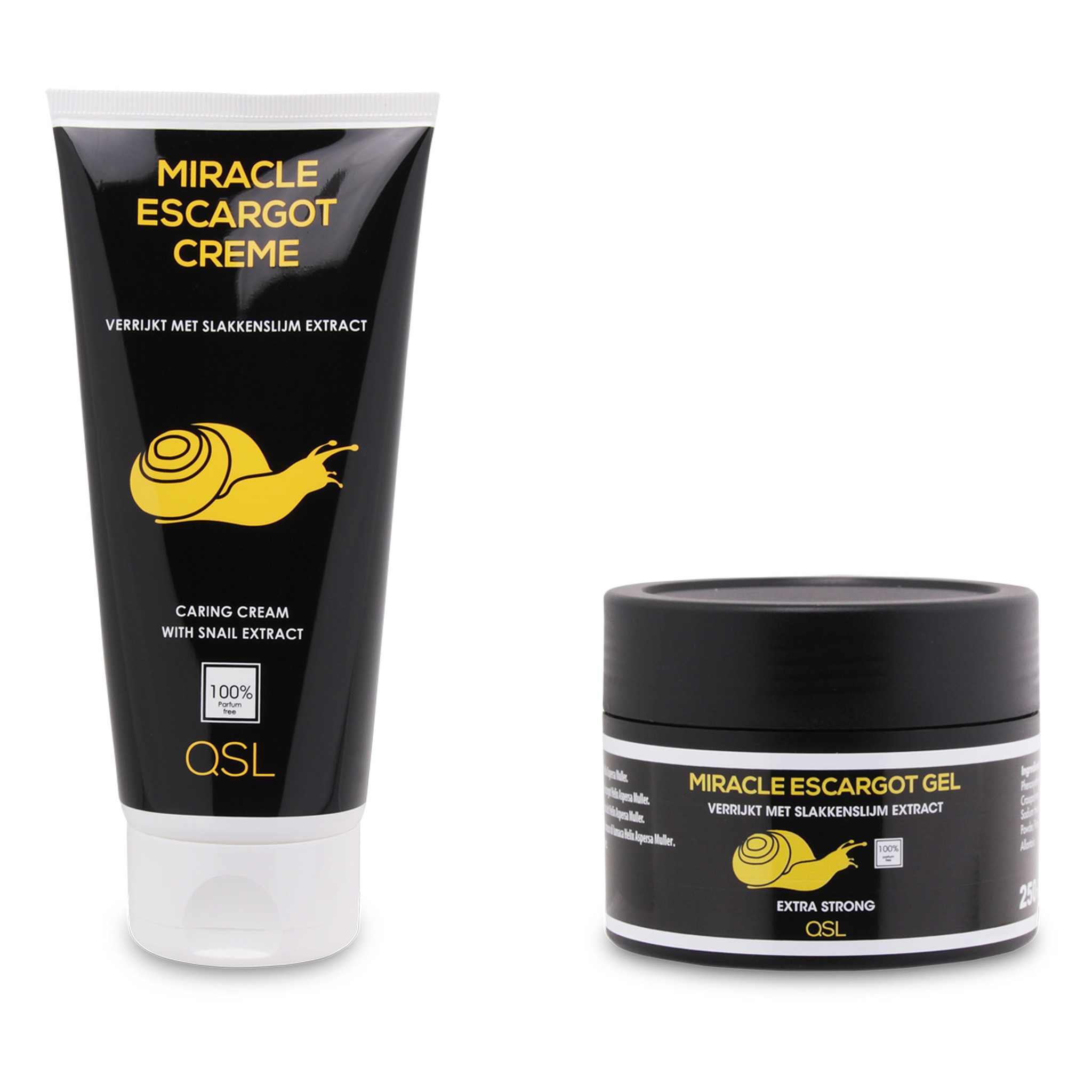 Miracle Escargot Offre combinée   Miracle Escargot Gel 250ml & Miracle Escargot Crème 200ml