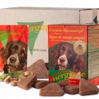 Een natuurlijke hondenvoeding voor een gezonde en fitte hond op basis van vers, rauw vlees.