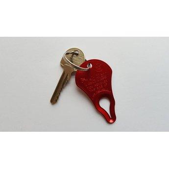 Tick Key Teken verwijderaar voor aan je sleutelhanger