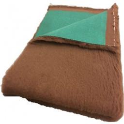 BoeZLife Vet bed Professioneel bruin 35 mm groene rug