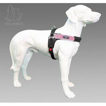 Tre Ponti  Forza Reflecterende hondentuig, voor de sterkere hond