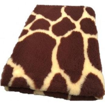 BoeZLife Vetbed giraffe print met antislip