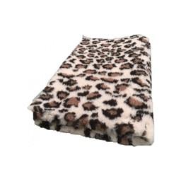 Vet bed Engelse kwaliteit Vet bed Animal Luipaard