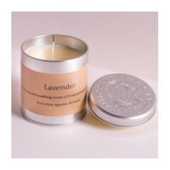 St Eval Lavendel, Geurkaars in Blikje