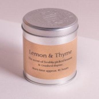 St Eval St Eval Natuurlijke Lemon & Thyme Geurkaars in blikje 45 branduren