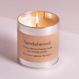 St Eval Natuurlijke Sandelwood Geurkaars in blikje 45 branduren