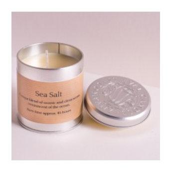 St Eval St Eval Natuurlijke Sea Salt Geurkaars in Blikje 45 branduren