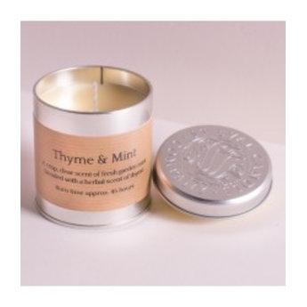 St Eval St Eval Natuurlijke Thyme & Minth Geurkaars in Blikje 45 branduren