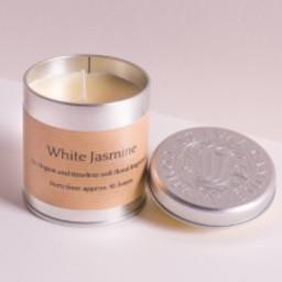 St Eval Natuurlijke White Jasmin Geurkaars in Blikje 45 branduren
