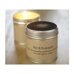 St Eval Natuurlijke Bay & Rosemary Geurkaars in Blikje 45 branduren