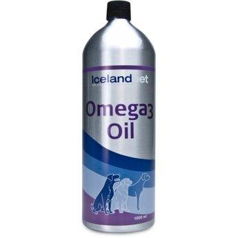 Icelandpet Omega Oil, rijke olie gewonnen van ansjovis en sardientjes