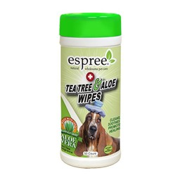 ESPREE Tea Tree & Aloë Wipes 50 stuks