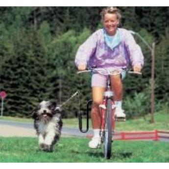 Springer Dé originele zwarte fietsbeugel uit Noorwegen