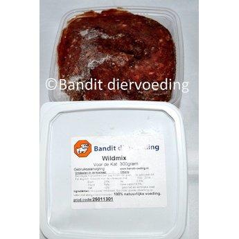 Bandit Wildmix, complete verse vleesvoeding voor katten
