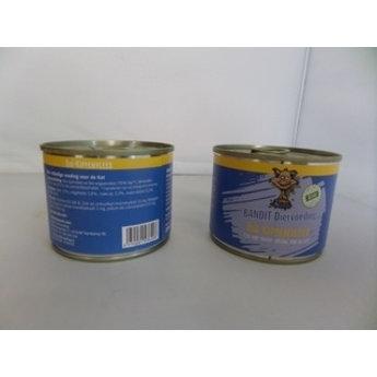 Bandit Bandit Blik Biologisch Kip voor de KAT 200 gram