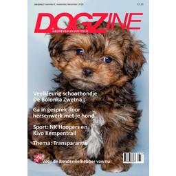 Dogzine Hét magazine voor elke hondenliefhebber