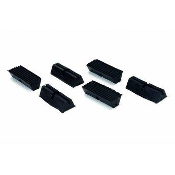 Beeztees Bench voetjes, rubberen onderzetters voor de bench