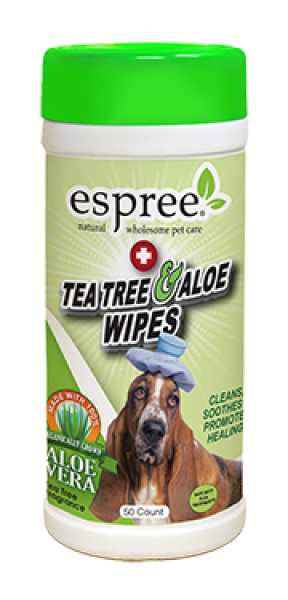 ESPREE Tea Tree Aloë Wipes