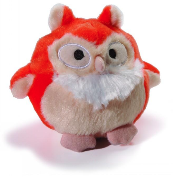 Charming Howling Hoots Oranje