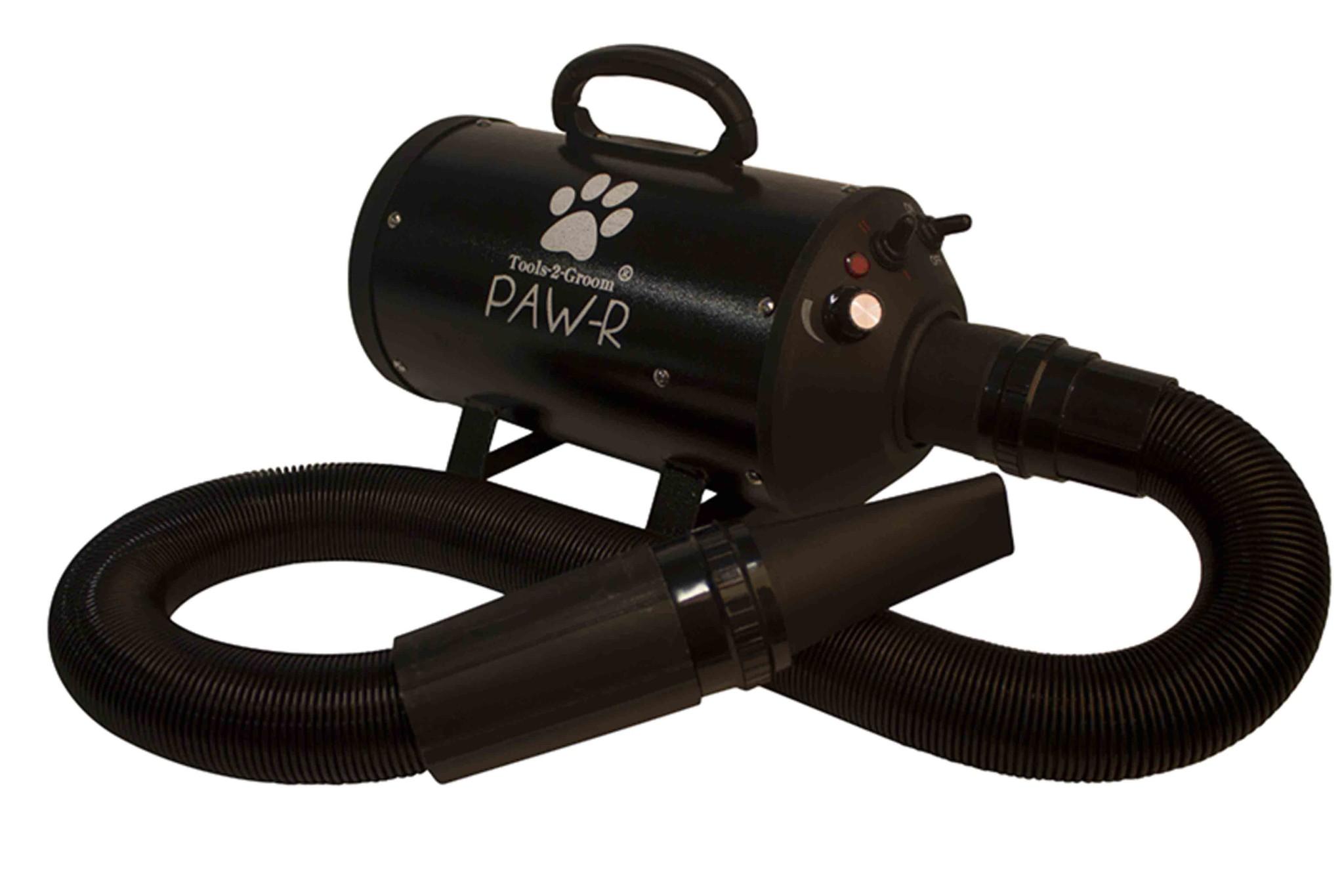 Paw-R Waterblazer Zwart met witte pootafdruk