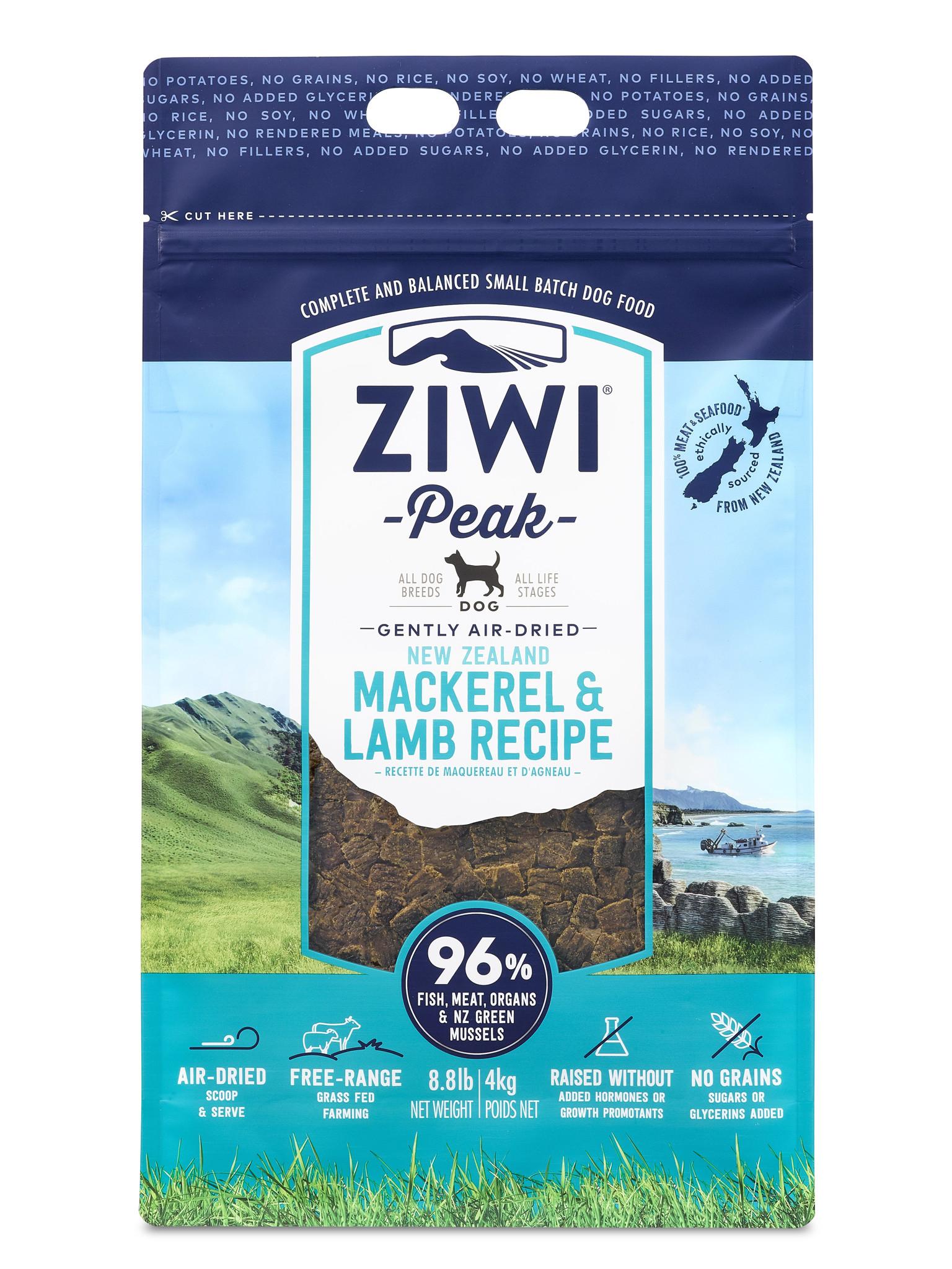 Ziwipeak Mackerel & Lamb