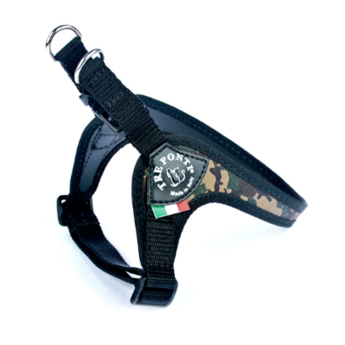Tre Ponti  Fibbia Fashion Camouflage Verstelbaar, tuig voor honden