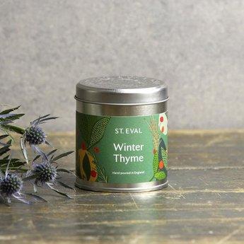 St Eval St Eval Christmas Winter Thyme  Geurkaars in Blikje 45 branduren