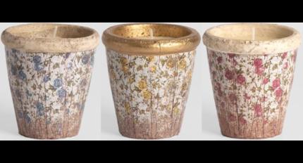 St Eval Aardewerk bloemen potten / St Eval Floral Pots