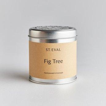 St Eval St Eval Fig Tree Geurkaars in Blikje 45 branduren